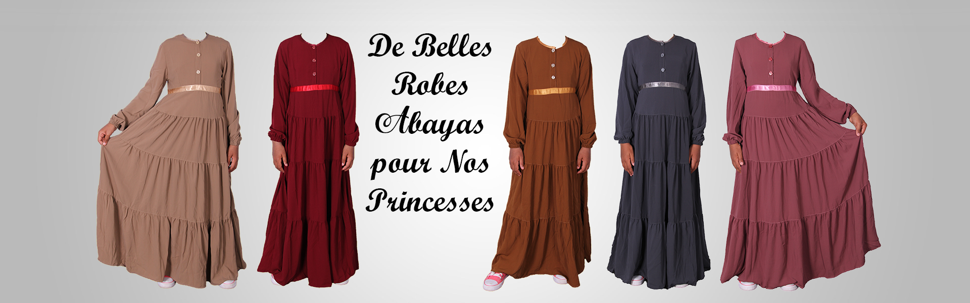 Robes Abayas fillettes